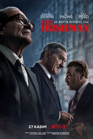 The Irishman 2019 İzle Türkçe Dublaj